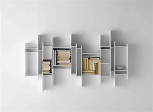 Bücherregal Modernes Design : b cherregal wand die multifunktionale m bel f r alle r ume ~ Sanjose-hotels-ca.com Haus und Dekorationen