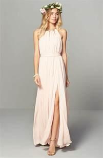 blush chiffon bridesmaid dresses best 10 bridesmaid dresses ideas on bridesmaid dresses dresses