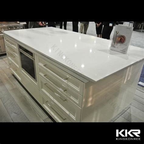 Silestone Countertop Thickness by 30mm Thickness Artificial Quartz Kitchen Countertop
