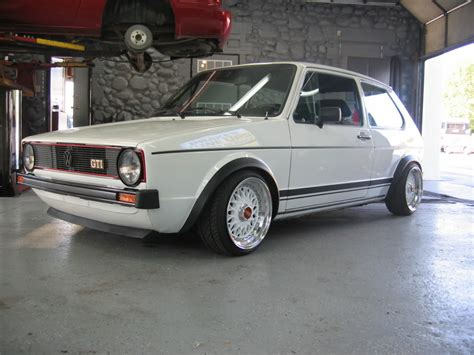 siege golf 1 gti german style on mk1 e30 and golf
