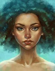 Beautiful Digital Art Portrait