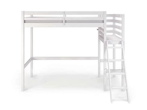 lit superposé avec bureau intégré conforama lit mezzanine 90x190 200 cm melody coloris blanc vente