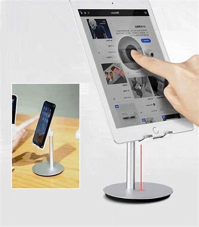 Tablet Stand Adjustable Multi Angle Aluminum Smartphone