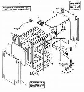 Bosch Model Shx46a05uc  14 Dishwasher Genuine Parts