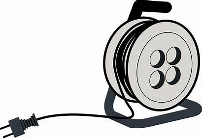 Kabeltrommel Stromkabel Clipart Aehnlich Muessen Kabeltrommeln Fungieren