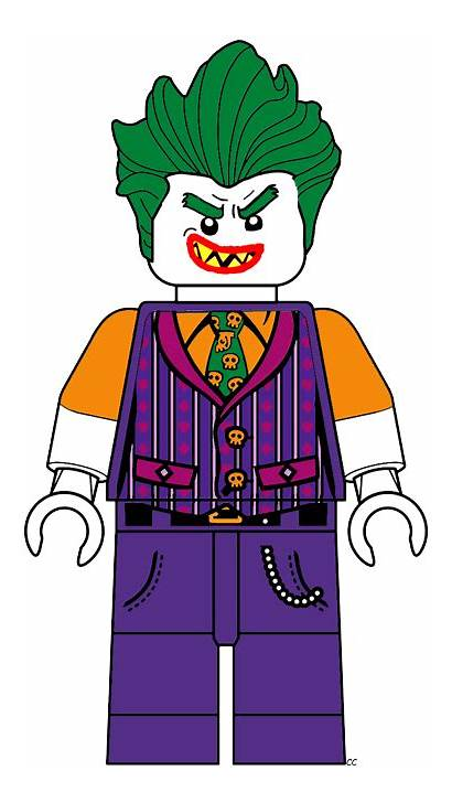 Joker Lego Batman Clipart Cartoon Clip Robin