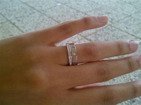 love ring  erings  stacks   cartier