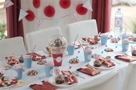 decoration theme fete foraine coffret anni f 234 te foraine invite et d 233 cor