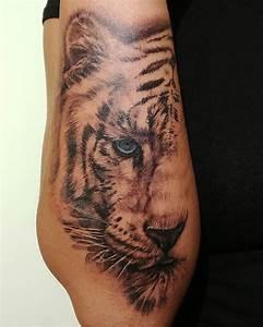 Signification Animaux Tatouage : signification et symbolisme des tatouages de tigres ~ Dode.kayakingforconservation.com Idées de Décoration