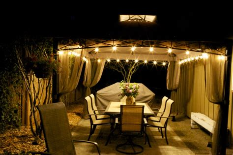 outdoor gazebo lights lighting and ceiling fans