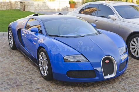 Bugatti Veyron Eb 16.4 Parked In Dubai, Uae Editorial