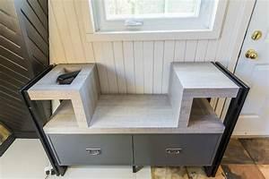 Banc Entrée Bois : design de mobiliers exclusifs lorraine masse designer ~ Teatrodelosmanantiales.com Idées de Décoration