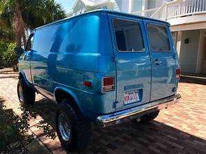 1977 Chevrolet G10 Shorty Pathfinder 4x4 Custom Old School Van    Nice