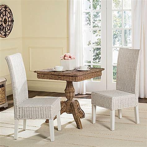 Safavieh Wicker Chairs by Buy Safavieh Arjun Wicker Dining Chairs In White Set Of 2