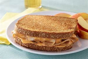 Tangy Toasted Turkey & Cheese Sandwiches | JENNIE-O® Turkey