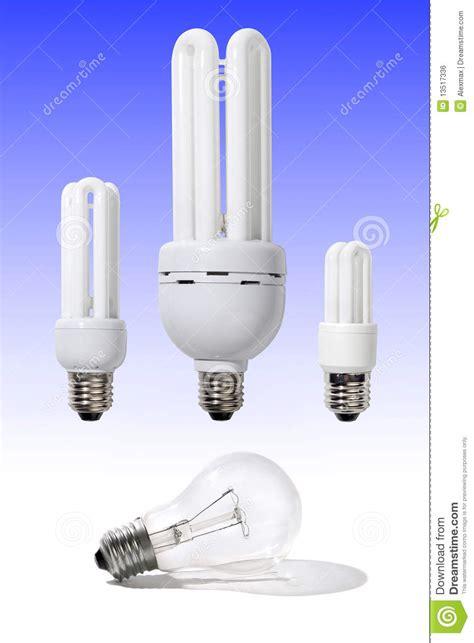 energy efficient light bulbs royalty free stock image