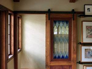 beautiful stained glass door interior barn doors pinterest With barn door with stained glass