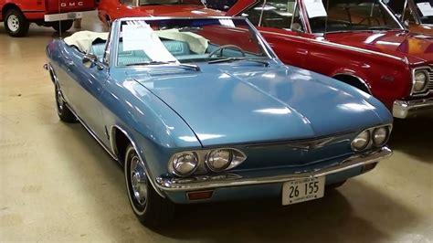 1965 Chevrolet Corvair Monza Convertible - YouTube