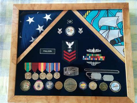 Navy Shadow Box By Johnnyc3123