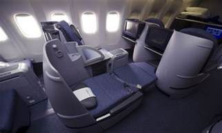 United Airlines Business Class Seats