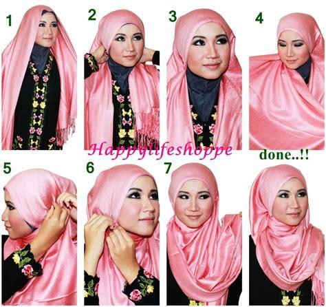 beautiful  hijab styles  step  step tutorial hijabiworld