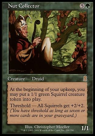 Squirrel Mtg Deck Builder by Nut Collector Odyssey