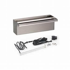 Lame D Eau Bassin : lame d 39 eau niagara ubbink 30 cm avec 20 led inox 304 ~ Premium-room.com Idées de Décoration