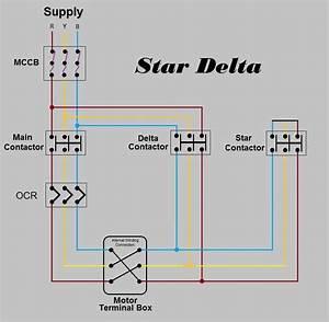 Star Delta Power Schematic Diagram