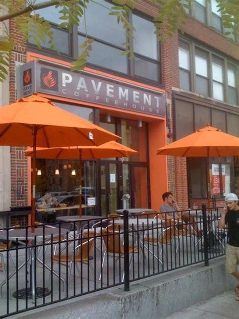 Check out their menu for some delicious coffee. Pavement Coffeehouse in Fenway, Boston on Walk Score | Boston neighborhoods, Boston apartment ...