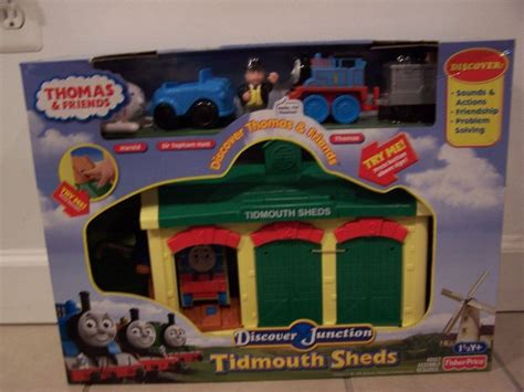 tidmouth sheds trackmaster argos and friends tidmouth sheds discover junction set
