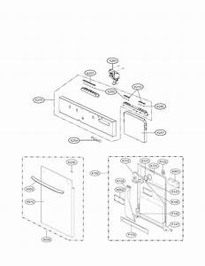 Door Assembly Parts Diagram  U0026 Parts List For Model