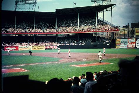 """Last Game At Ebbets Field  """"baseball History Comes Alive!"""""""