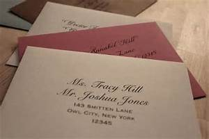 the etiquette of writing and addressing wedding With etiquette of writing wedding invitations