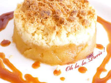 Dessert Facile Avec Des Pommes by Crumble Aux Pommes Caram 233 Lis 233 Es Fa 231 On Tatin Oh La La