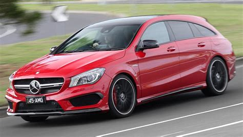 2015 Mercedes-benz Cla 45 Amg 4matic Shooting Brake Review