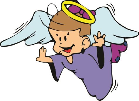 cartoon angel clipart  clipart