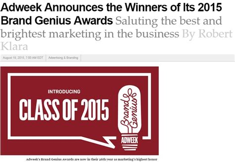 """Delta's Marketing Chief Named A """"brand Genius"""" For"""