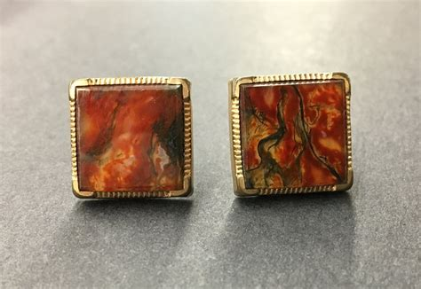 pair antique cuff links  mart collective venice los
