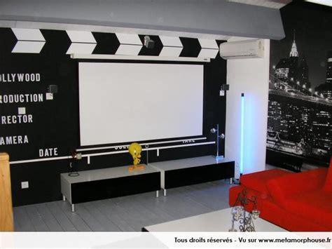 canapé convertible ubaldi décoration salon cinema