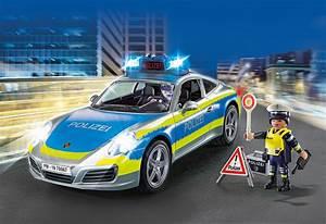 Voiture Playmobil Porsche : playmobil 70067 porsche 911 carrera 4s polizei ~ Melissatoandfro.com Idées de Décoration