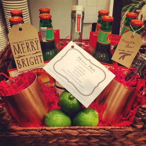 diy moscow mule gift basket gifts  packaging