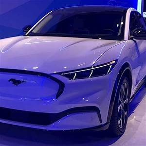 2021 Ford Mustang Mach-E at the Chicago Auto Show in 2020 | Chicago auto show, Ford mustang ...