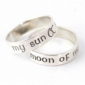 game of thrones rings my sun stars moon of by With game of thrones wedding rings