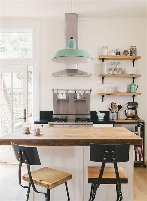 petit ilot central de cuisine la cuisine équipée avec ilot central 66 idées en photos