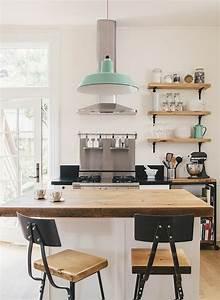 la cuisine equipee avec ilot central 66 idees en photos With petit ilot central de cuisine