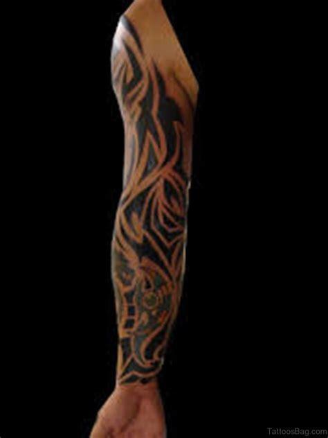 fabulous tribal tattoos  full sleeve