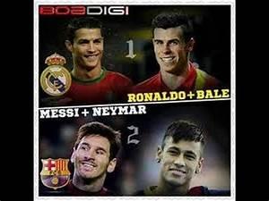 Bale Ronaldo vs Neymar Messi The War HD - YouTube