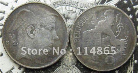 Belgium 1955 20 Francs (belgique) Copy Coin Commemorative