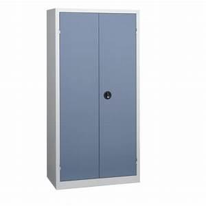 Armoire D Atelier : armoire d 39 atelier portes battantes 198x100 ~ Teatrodelosmanantiales.com Idées de Décoration