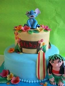 Stitch Cake on Pinterest Snoopy Cake, Mine Craft Cake